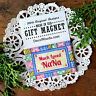 NaNa Refrigerator MAGNET Much Loved Quilt Style Gift Magnet Decorative Greetings