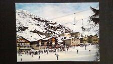 CPM En Haute Maurienne Savoie val cenis départ des pistes rassemblement