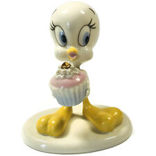 Lenox A Present from Tweety Birthday Cupcake Swarovski Crystal Figurine November