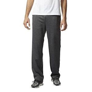 adidas Men's Team Issue Fleece Open Hem Pant Heather BQ8818 Size M-2XL NWT