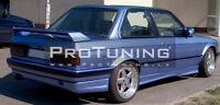 For BMW 3 Series E30 Rear Boot Trunk Rear Spoiler Wing Aerodynamic