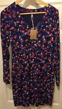 Joules Cotton V-Neck Regular Size Dresses for Women