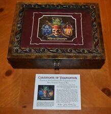 RARE PIRATES OF THE CARIBBEAN: THE LEGEND LIVES ON DAVE AVANZINO TREASURE BOX