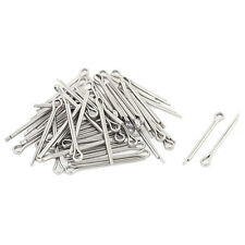 M1.2x16mm 304 Stainless Steel Split Cotter Pins Silver Tone 50pcs O6A6