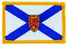 FLAG PATCH PATCHES NOVA SCOTIA  PROVINCIAL IRON ON EMBROIDERED SMALL CANADA