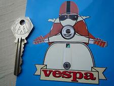 VESPA Cafe Racer Style Scooter STICKER Brown & Cream GT GS GL LX SS ET PK PX T5