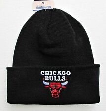 Chicago Bulls Black Cuffed Beanie Winter Cap Hat Authentic Adidas