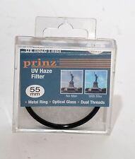 55mm UV filter by Prinz  - NEW