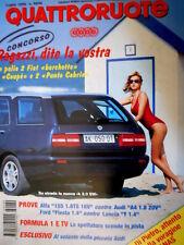 Quattroruote 489 1996 Su strada la nuova K 2.0 SW. Piccola Audi. Alfa 155 [Q87]