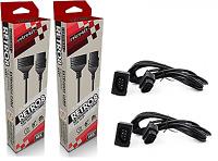 2 x NES Extension Cable - 6FT (Retro-Bit) Original Nintendo Controller Long Cord
