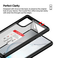For Samsung Galaxy Note 10 Plus Case [Damda Crystal Mixx] Clear Shockproof Cover