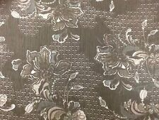 Lightweight Polyester Dressmaking Fabric In Black Floral