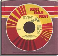 "Steven & Sterling - I'm In Love With You (Mono/Stereo) - 7"" RCA 45 RPM Single!"