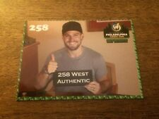 258 West Authentic Stephen Amell Promo Card WWPHILLY P2