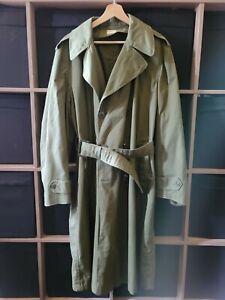 Vintage US Army Military Trench Coat Jackets medium