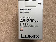 Panasonic Lumix G Vario 45-200mm F/4.0-5.6  AF OIS Lens