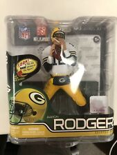 McFARLANE AARON RODGERS Green Bay Packers NFL Action Figure Toy SERIES 30-NEW