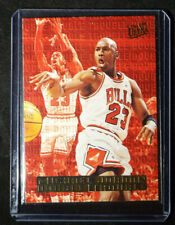 1995-96 Fleer Ultra Double Trouble Gold Medallion Michael Jordan #3 PLUS EXTRA