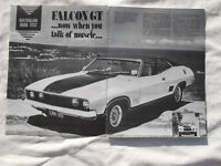 XB GT Ford Falcon Hardtop Original Article Removed from a Motoring Year Book