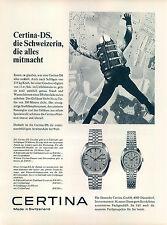 Certina-DS-1970-Reklame-Werbung-vintage print ad-Vintage Publicidad-老式平面广告