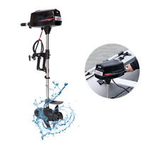 60V Powered Outboard Motor 2200W Engine Inflatable Fishing Boat Motor