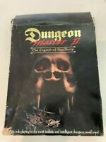 Dungeon Master II: The Legend of Skullkeep (PC, 1995) CD, INSTRUCTIONS, MAP, ETC