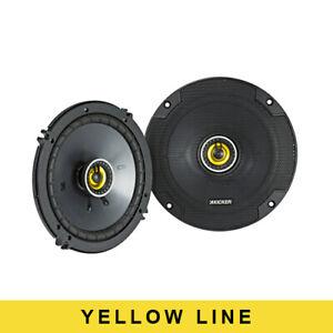 Kicker Audio CS 6.5 Inch (160MM) Coaxial Speakers 46CSC654 ( Pair )