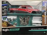 BUICK CENTURY 1955 1:24 car diecast KIT model car die cast models cars kids toy