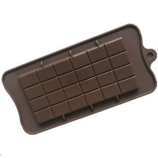 Square Chocolate Mold Bar Block Ice Silicone Cake Candy Sugar Bake Mould NT5Z