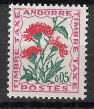 TIMBRE TAXE  ANDORRE FRANCE NEUF  N° 46  **  FLEURS DES CHAMPS