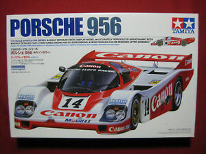 1985 Porsche 956 Canon Richard Lloyd Racing 1/24 Tamiya Model Kit Le Mans 24 Hr