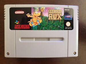 Super Nintendo SNES - Radical Rex Tested & Working