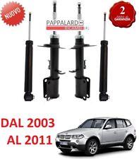4 AMMORTIZZATORI ANTERIORI + POSTERIORI BMW X3 E83 2.0 d 3.0 d Xdrive 18 20 30 d