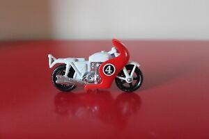"Matchbox 2.5"" HONDA 750 Motorbike & Driver Diecast No:33 Toy Bike LESNEY No:4"