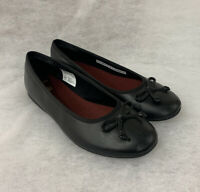 Girls Clarks School Shoe Jesse Shine Black Leather Size 5F Sale Price Was £36