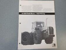 White 4-150 Tractor Dealer/'s Brochure PBPA