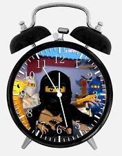 "Lego Ninjago Alarm Desk Clock 3.75"" Home or Office Decor Y124 Nice For Gift"