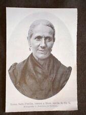 Teresa Sarto Parolin di Riese Sorella di Papa Pio X o Melchiorre Sarto