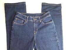 "LL BEAN FAVORITE FIT Blue Denim Jeans SZ 2 MT Waist 26 "" Inseam 30"" BootCut"