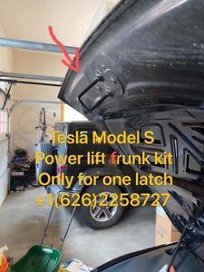 Tesla Model S (for Single Hood Latch) Power Lift Electric Frunk Kit~latest