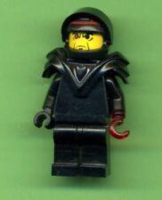 Lego-- Figur -- Alpha Team -- Schwarz mit rotem Hacken --
