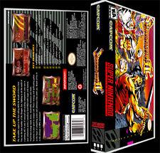 Breath of Fire 2 - SNES Reproduction Art Case/Box No Game.