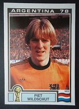 Panini 117 Piet Wildschut Niederlande WM 78 World Cup Story