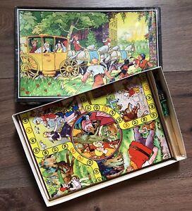 Vintage Spiel Brettspiel DIE REISE DURCHS MÄRCHENLAND Plaho Original
