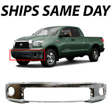 NEW Chrome - Steel Front Bumper Cover for 2007-2013 Toyota Tundra Truck 07-13
