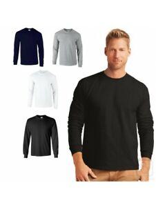 Gildan 1 T-shirt homme 100% coton manches long