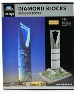 Kingdom Centre Tower Skyscraper Al Mamlka  Micro Mini Block Model Building Set