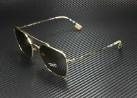 BURBERRY BE3107 110973 Light Gold Brown 56 mm Men's Sunglasses