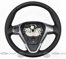 Tuning Lenkrad Lederlenkrad Sportlenkrad passend für Ford Fiesta VI kauf