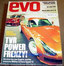 Evo Magazine Issue 79 - TVR Sagari - TVR Cerebra Speed 12